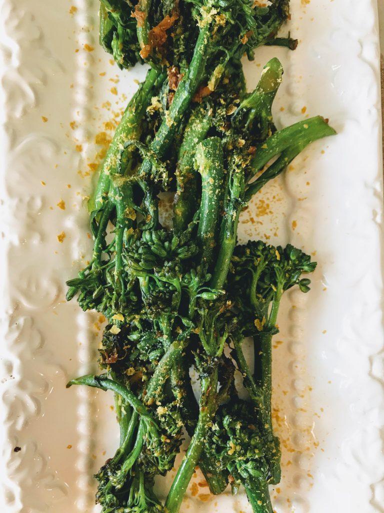 crispy broccolini