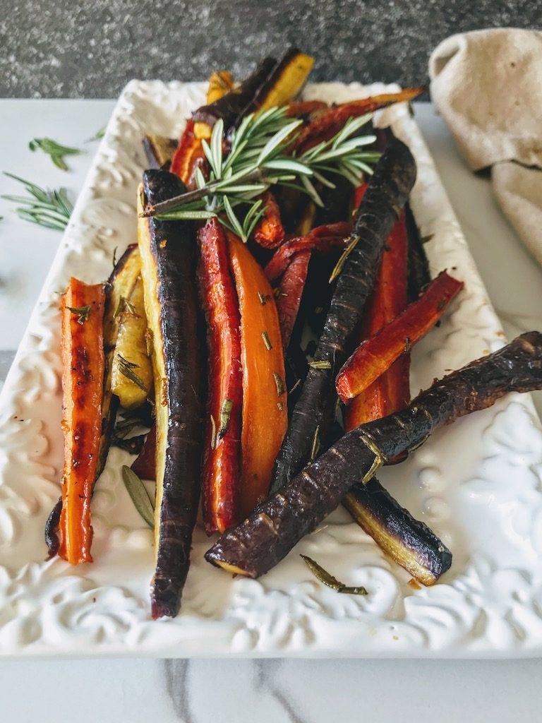 maple orange carrots
