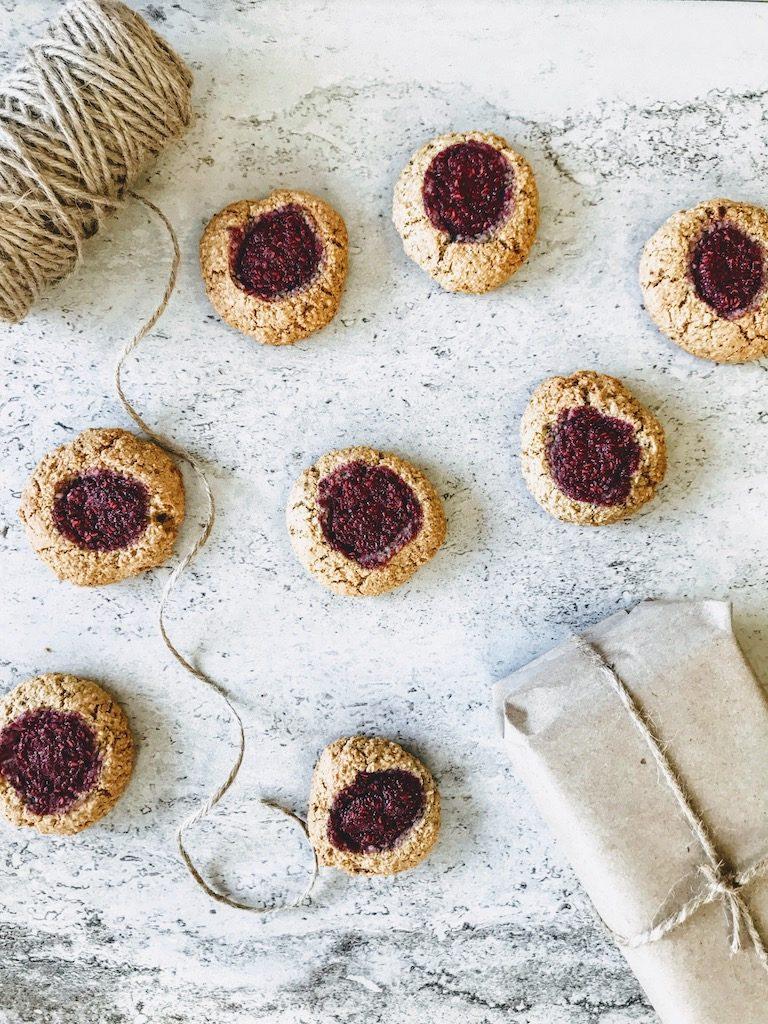 Jam filled cookies
