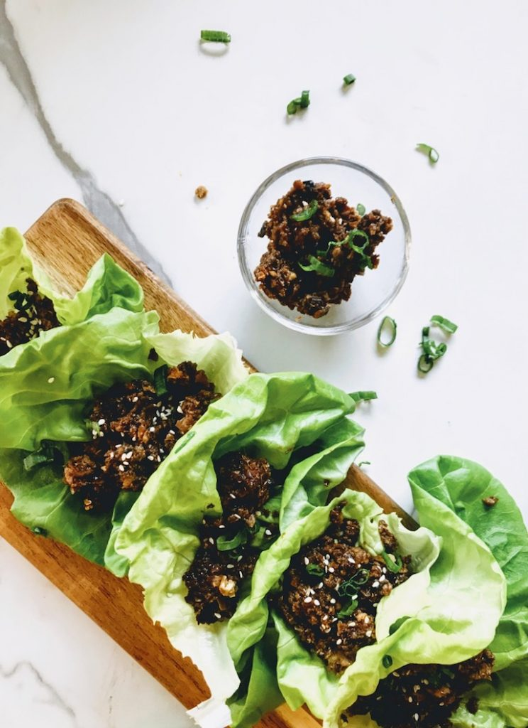healthy lettuce wraps