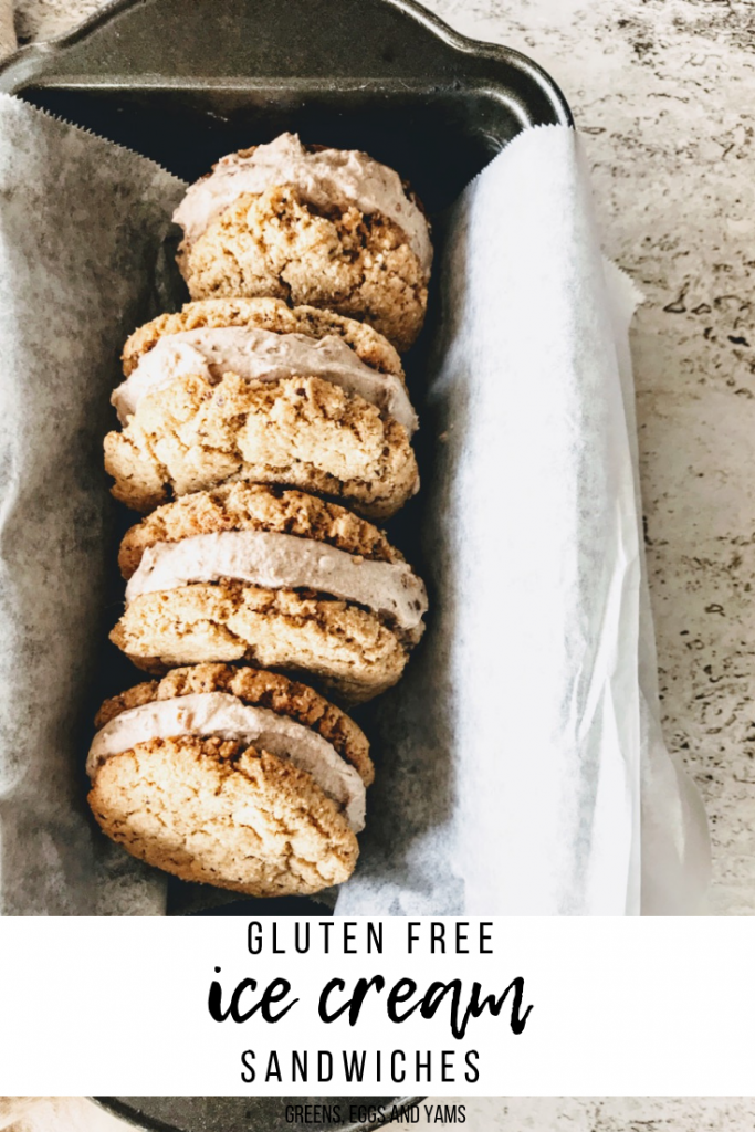Gluten Free Ice Cream Sandwiches