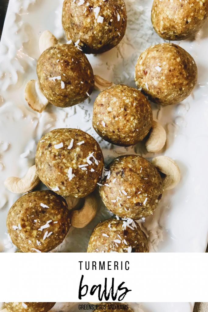 Turmeric Bites