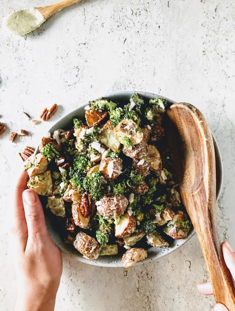 Broccoli Salad | Greens, Eggs, and Yams |