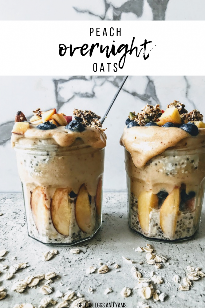 Peach Overnight Oats