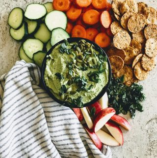 butter bean green hummus
