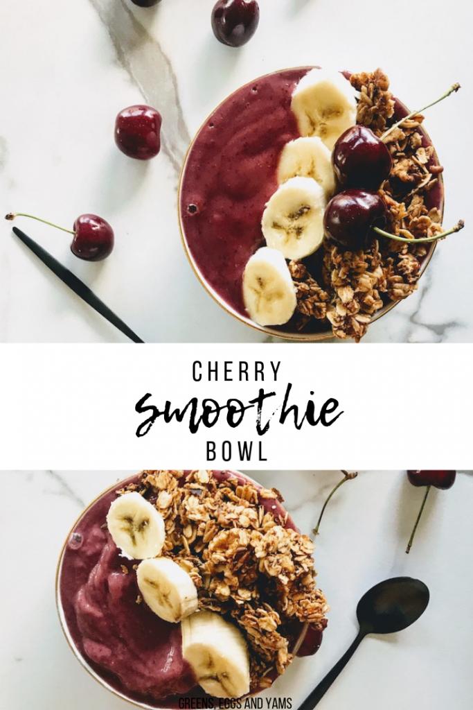 Cherry Smoothie pinterest