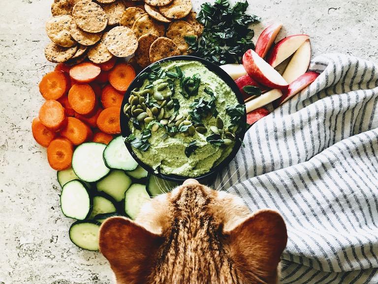 vegan hummus