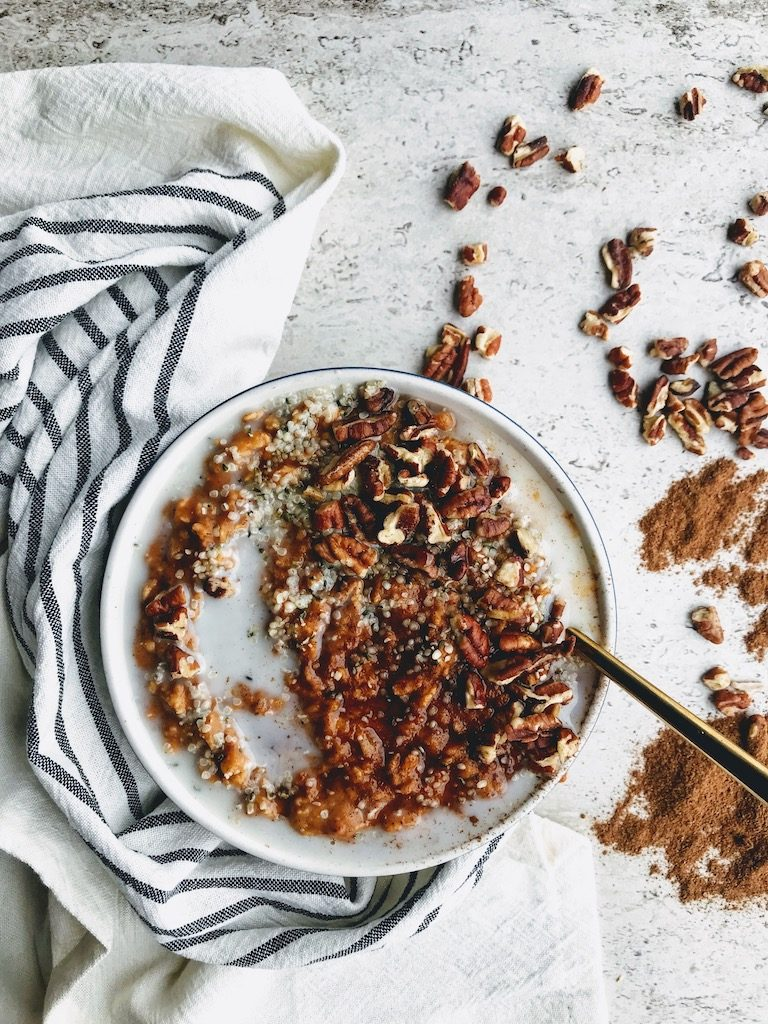 Pumpkin Vegan Oatmeal
