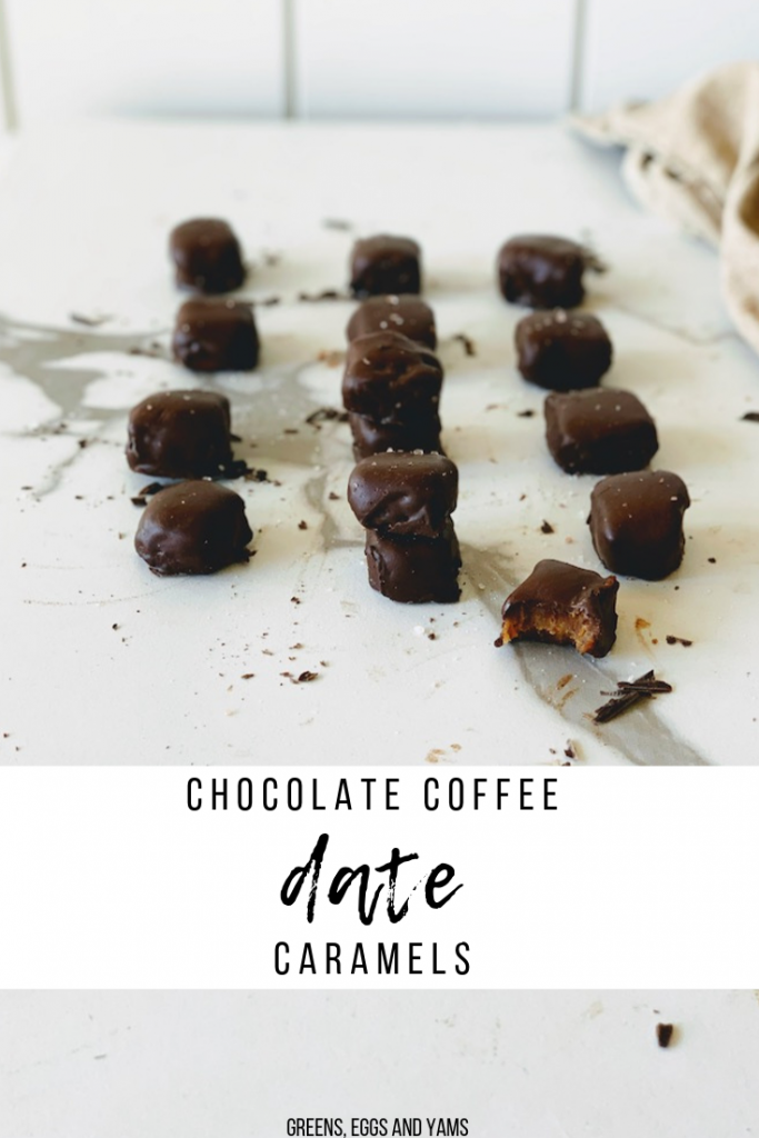 chocolate coffee caramels