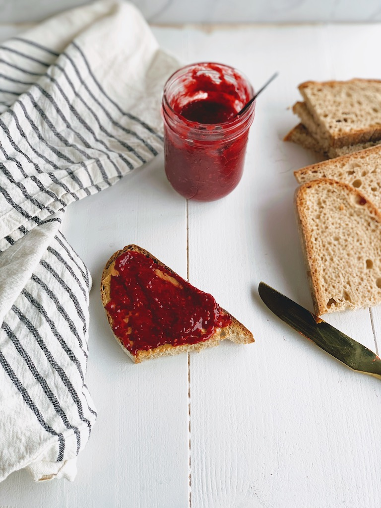 how to make healthy jam