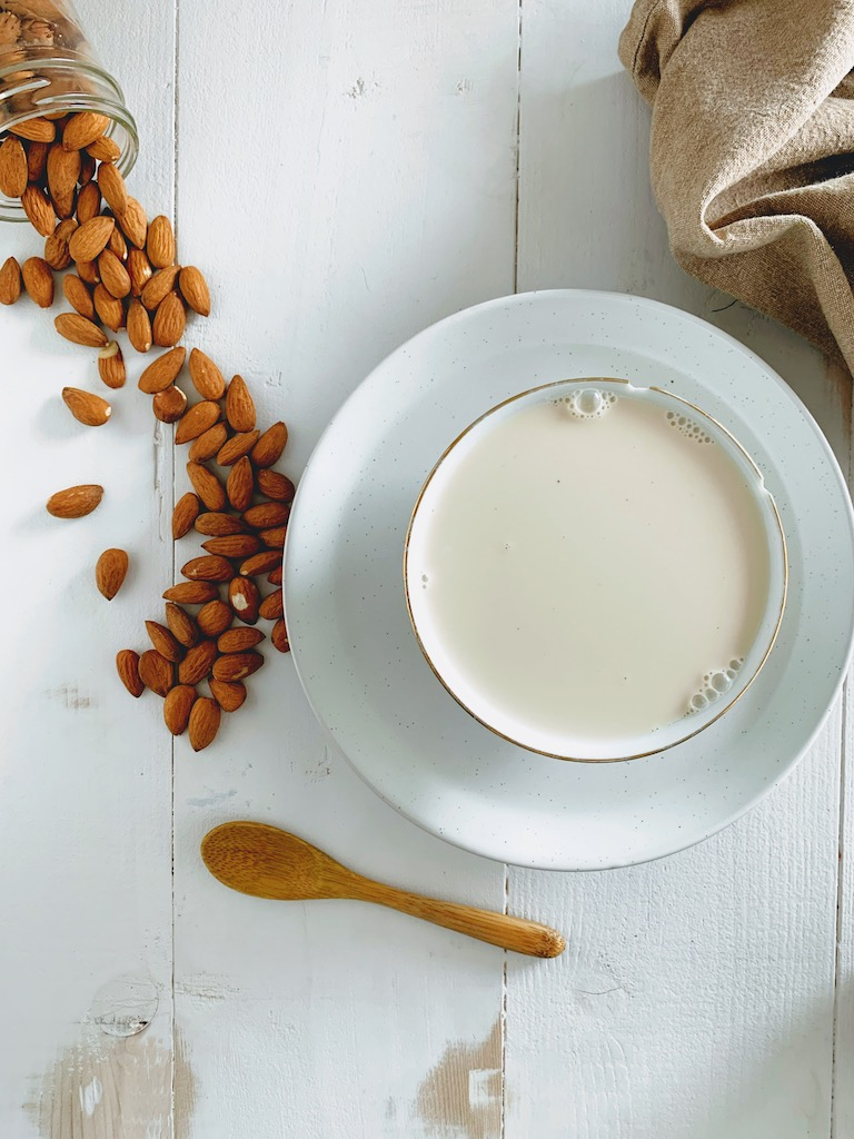 creamy almond milk recipe