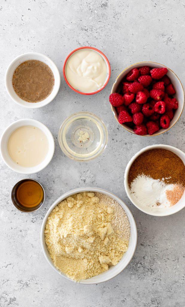 gluten free muffin ingredients