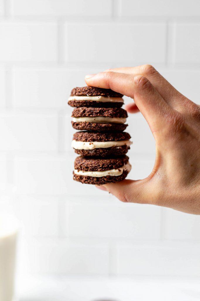 vegan oreo cookies