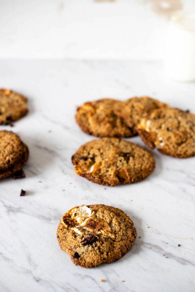 vegan marshmallow cookies