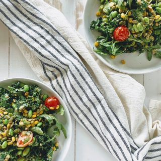 vegan summer salad