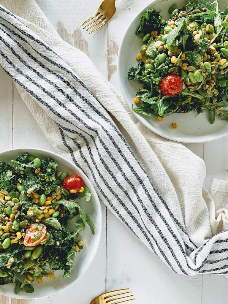 vegan summer salad