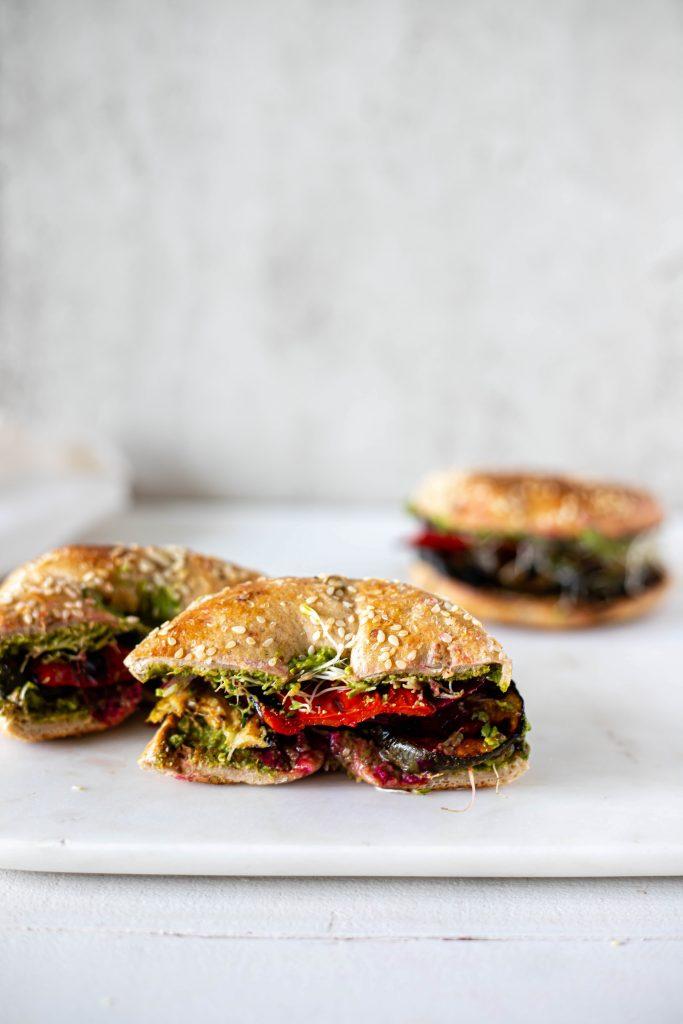 zucchini sandwiches
