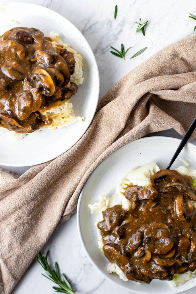 vegan mushroom sauce
