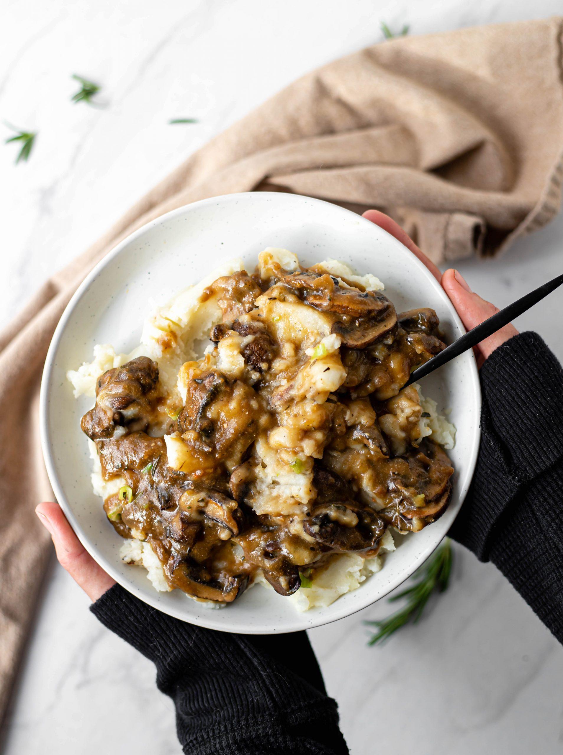 gluten free mushroom gravy