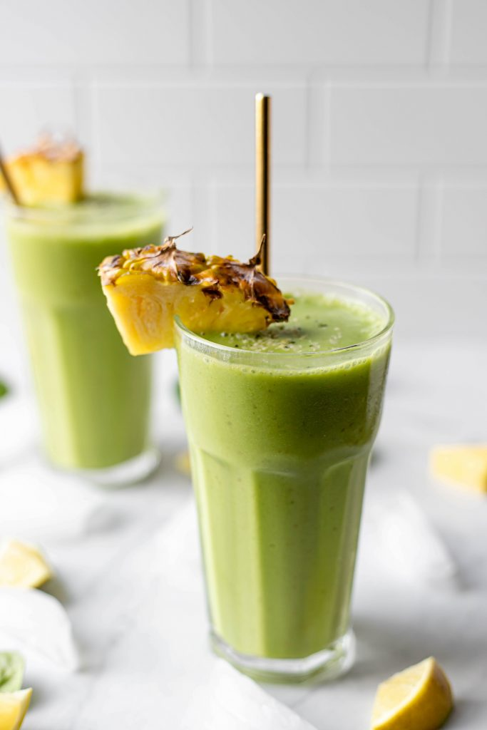 pineapple spinach smoothie