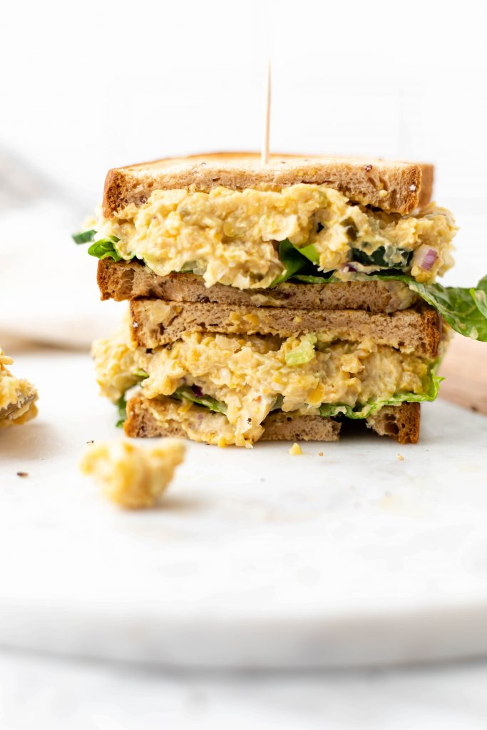 chickpea egg salad