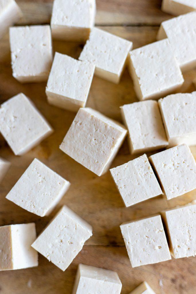 tofu skewers
