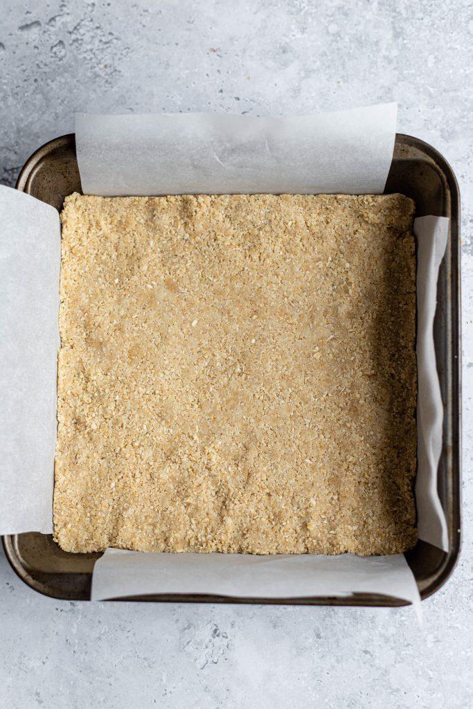 base of a cheesacake
