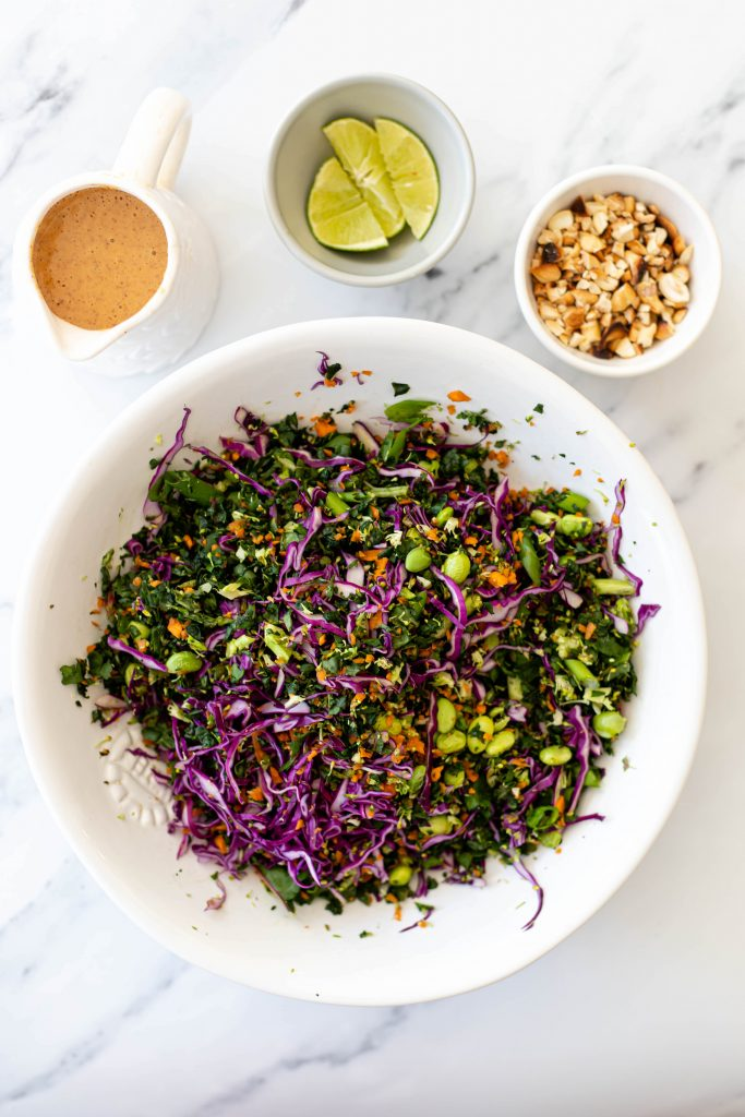 ingredients for thai salad