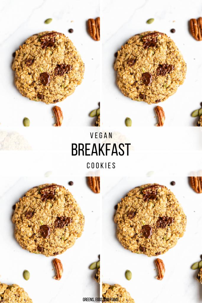 vegan breakfast cookies